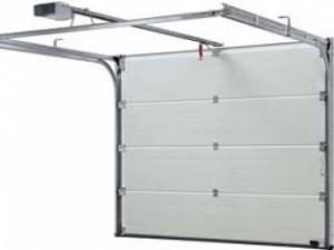 garážová vrata systém skládací