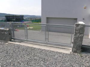 brány a vrata pro váš dům - brána posuvná