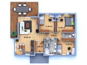 dům 35 půdorys