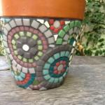 květináče - kamínkový