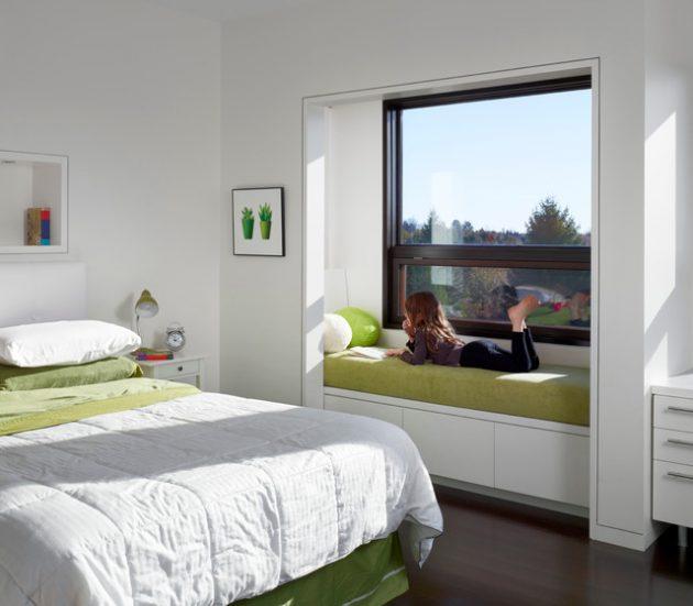 okenní sezení - ložnice