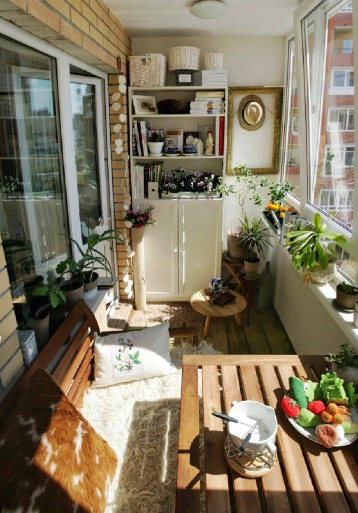 zimní zahrada - balkonek