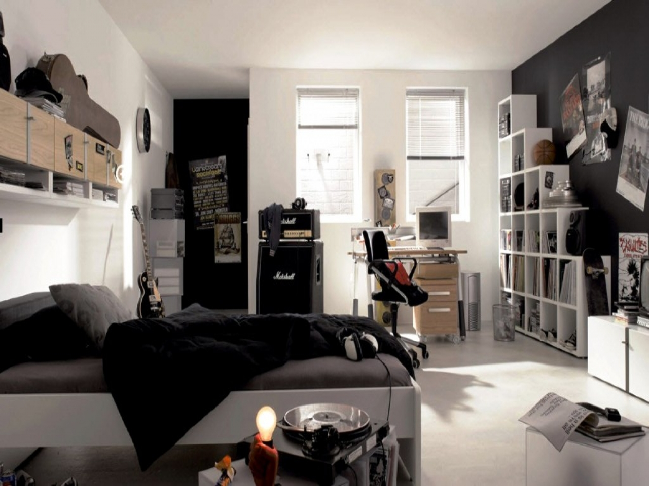 za izujete pokoj pro teenagera m me p r tip jak na to livinghome. Black Bedroom Furniture Sets. Home Design Ideas