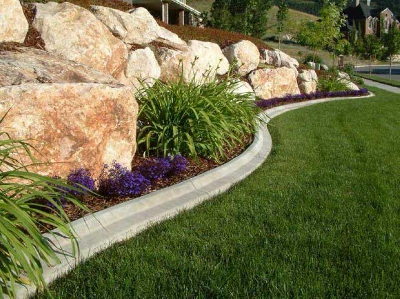 Obrubníky mohou vytvořit kouzelná zákoutí zahrady