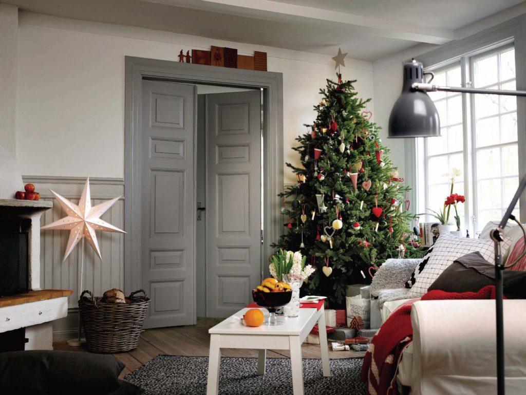 Oslavte Vánoce ve skandinávském stylu