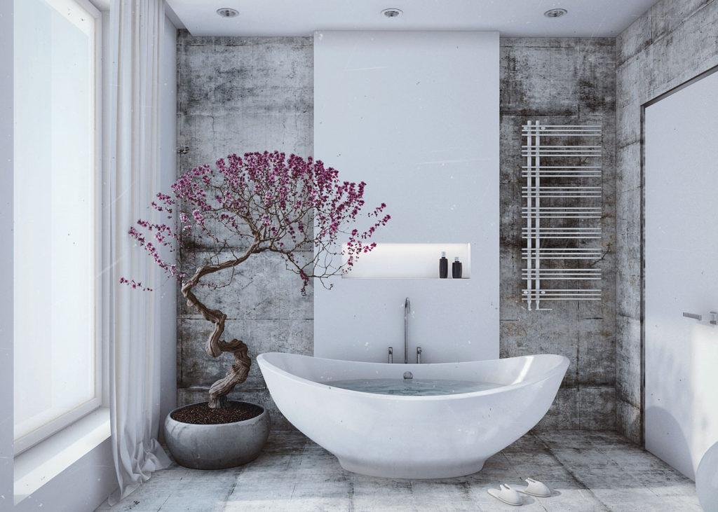 Jak zařídit koupelnu a WC podle Feng Shui?
