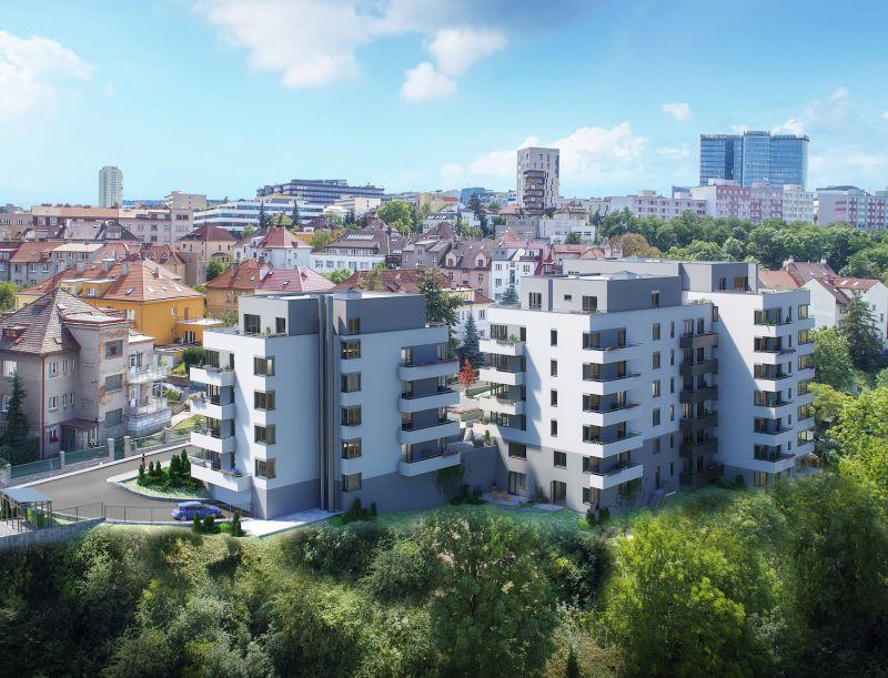 Praha 4 se dočká nových bytů: V Rezidenci Hadovitá bude radost bydlet