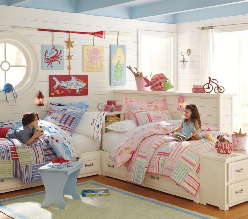 Jeden pokoj na dvě děti: jak ho zařídit?!