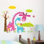 Samolepky na zeď promění dětský pokoj v kouzelné místo