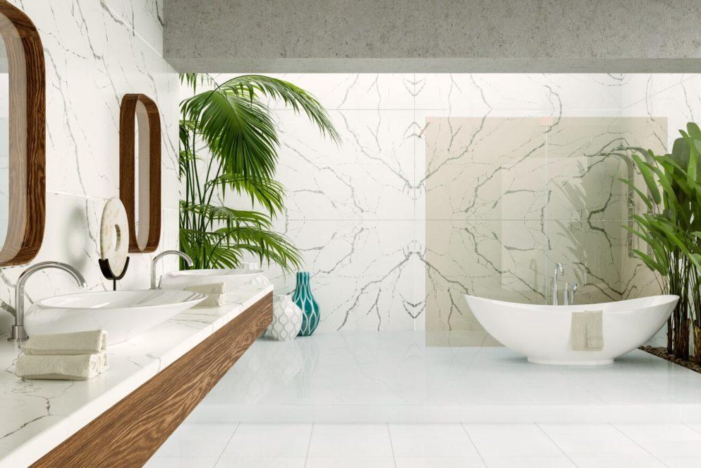 Koupelna jako luxusní svatyně