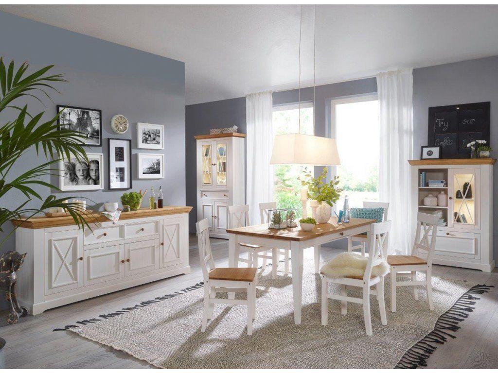 Obývací stěna ve stylu Provence sjednotí váš prostor