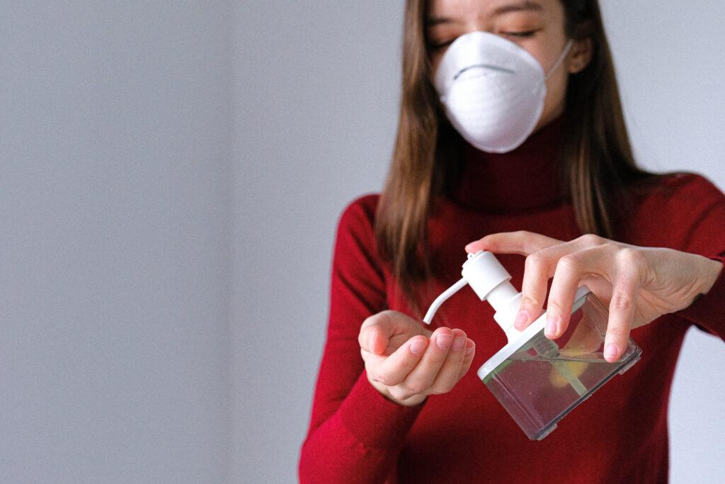 Jak správně používat dezinfekční gel?