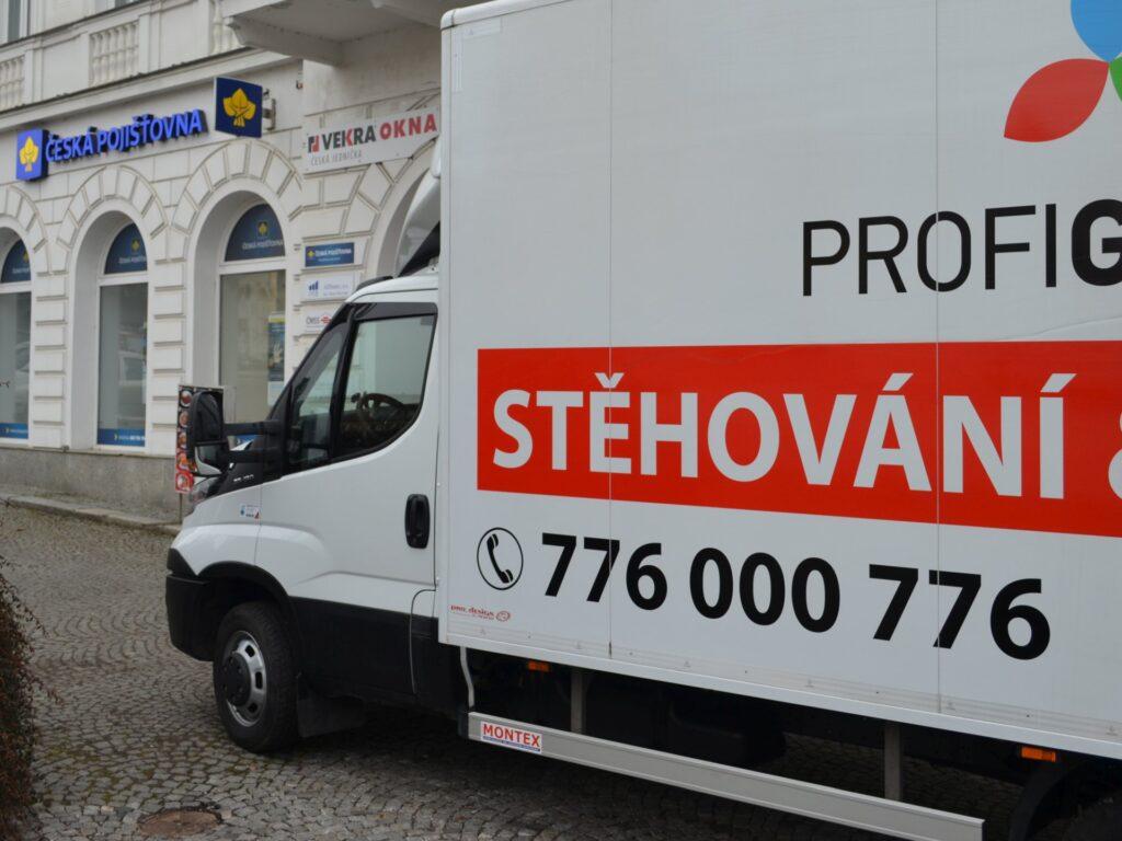 Stěhování po Praze rychle a spolehlivě
